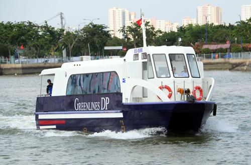 TP HCM khai trương tàu cao tốc triệu USD 1