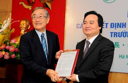 Đại học Quốc gia bổ nhiệm hiệu trưởng đầu tiên là người nước ngoài 1