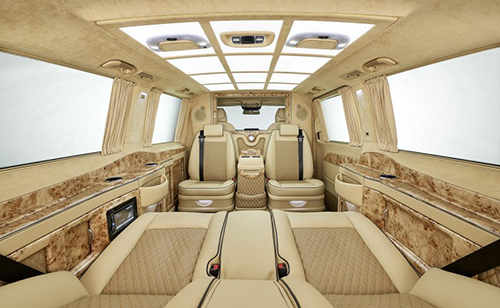 Mercedes V-class phiên bản thương gia 1