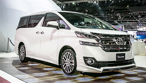Toyota Vellfire vne 2514 1462162530 Mẫu MPV hạng sang phân phối chính hãng tại Malaysia