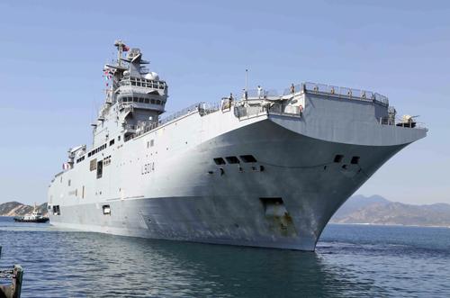 Chiến hạm hàng đầu của Pháp đến Việt Nam 1