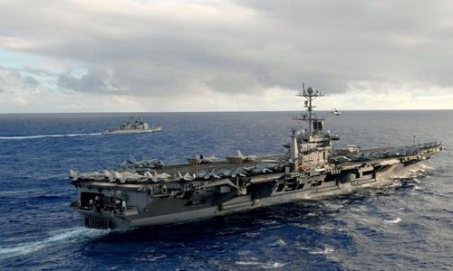 Trung Quốc cấm cửa tàu sân bay Mỹ, Biển Đông thêm dậy sóng 1