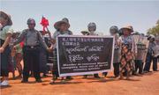 Hàng trăm người Myanmar biểu tình phản đối Trung Quốc khai thác mỏ đồng