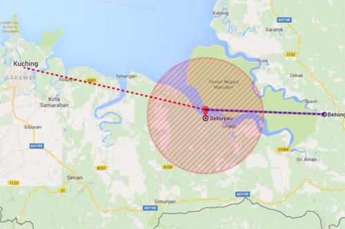 Máy bay chở nhiều quan chức Malaysia mất tích