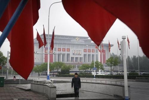 Hình ảnh hiếm về Triều Tiên ngày diễn ra đại hội đảng 1