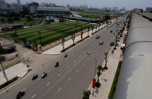 Tuyến đường kiểu mẫu đầu tiên ở thủ đô 1