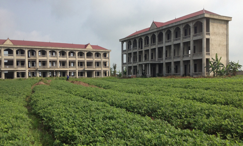Trường học hàng chục tỷ bỏ hoang giữa đồng 1