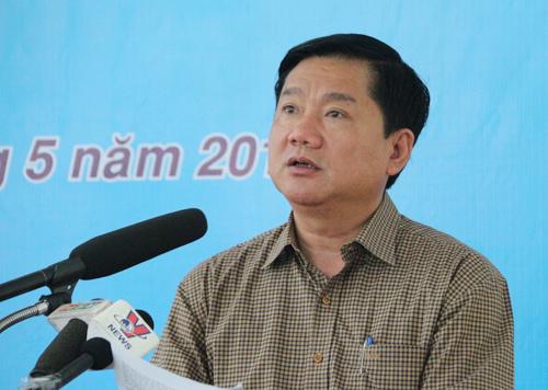 """Ông Đinh La Thăng: """"Quyết liệt cải cách, vì dân hành động"""" 2"""