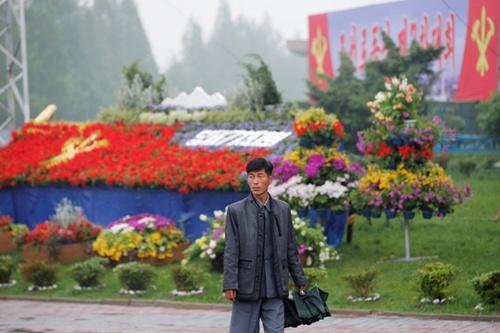Hình ảnh hiếm về Triều Tiên ngày diễn ra đại hội đảng 2