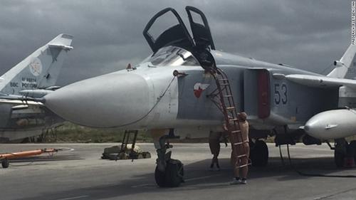 Những chiến cơ chủ lực Nga vẫn tung hoành ở Syria 2