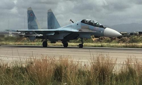 Những chiến cơ chủ lực Nga vẫn tung hoành ở Syria 3