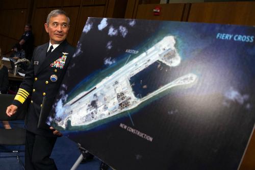 """Đô đốc Mỹ không """"ngậm bồ hòn"""" trước Trung Quốc ở Biển Đông 1"""