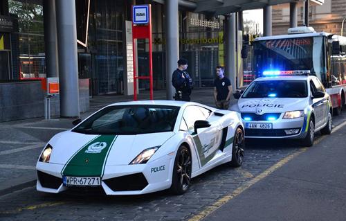 Siêu xe cảnh sát Dubai bị bắt ở châu Âu? 1