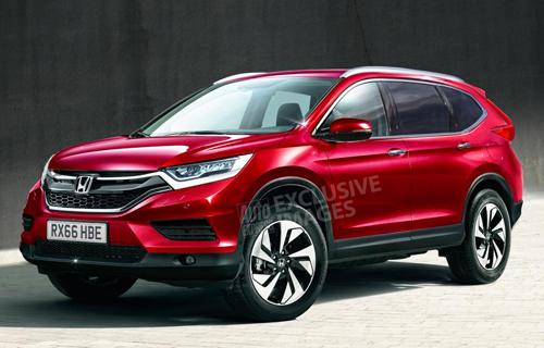 Honda CR-V thế hệ mới có 7 chỗ 1