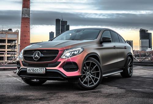 Mercedes GLE coupe sơn màu cá tính bậc nhất 1