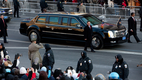 Xe tổng thống Mỹ được vận chuyển như thế nào? 1