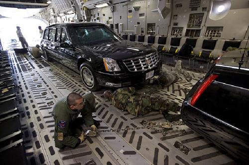 Xe tổng thống Mỹ được vận chuyển như thế nào? 6
