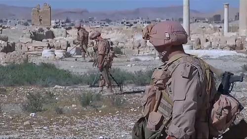 Một ngày cùng lính Nga diệt IS ở Syria 2