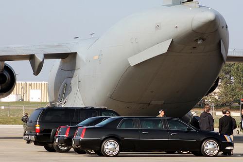 Xe tổng thống Mỹ được vận chuyển như thế nào? 7