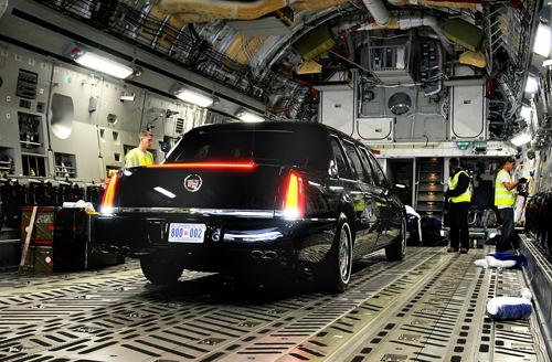 Xe tổng thống Mỹ được vận chuyển như thế nào? 5