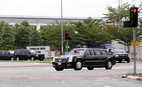 Xe tổng thống Mỹ được vận chuyển như thế nào? 2