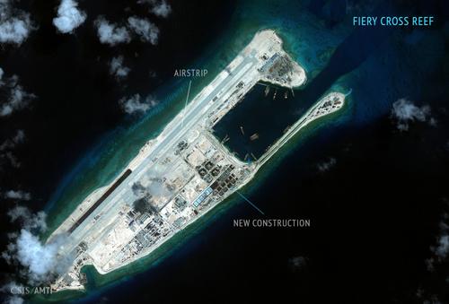Tuần tra đá Chữ Thập - bước lùi chiến thuật của Mỹ ở Biển Đông 3