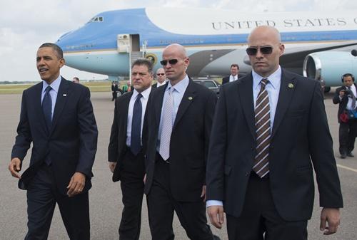 Những đặc vụ bảo vệ sát sườn tổng thống Mỹ 1