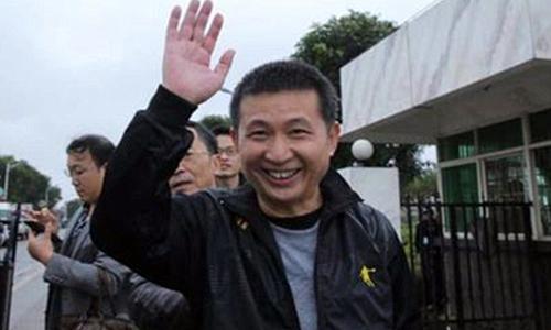 Chen Man được trả tự do sau hơn 20 năm ngồi tù oan. Ảnh: CEN.