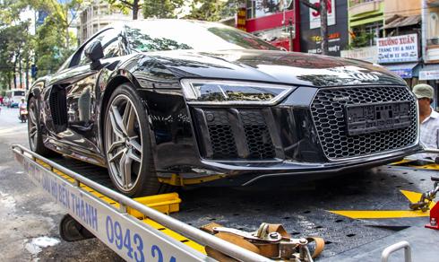 Audi R8 V10 2016 thứ hai về Việt Nam 1