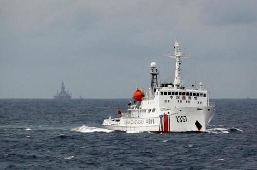 Một tàu hải cảnh của Trung Quốc. Ảnh: Reuters.