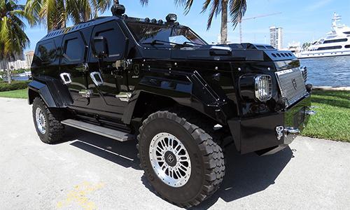 Knight XV - siêu SUV chống đạn qua sử dụng giá 565.000 USD 1
