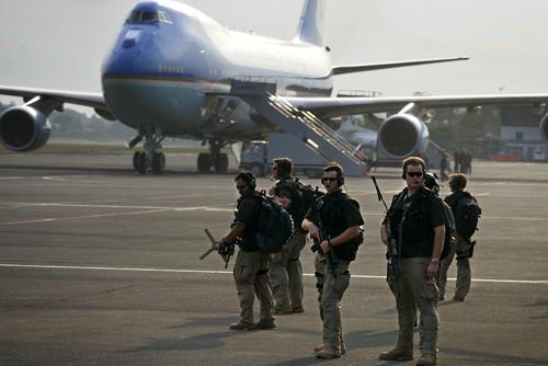 Đội siêu mật vụ trấn áp những kẻ tấn công tổng thống Mỹ 1