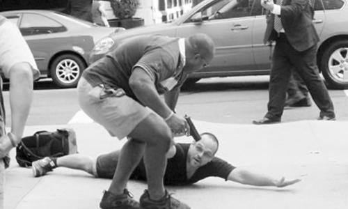 Cách mật vụ bảo vệ Obama vạch mặt nghi phạm tấn công 3