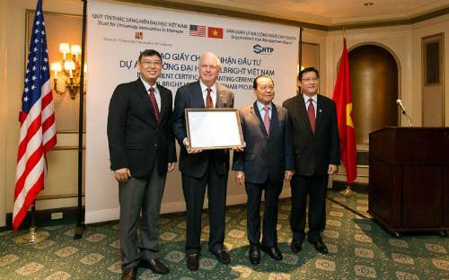 Thành lập Đại học Fulbright Việt Nam 1