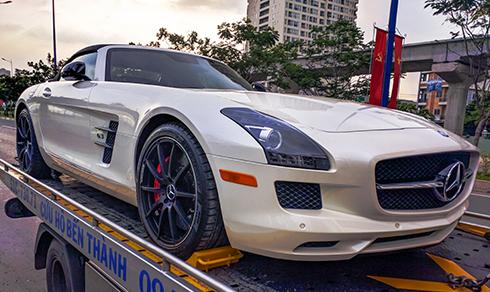 Thêm siêu xe Mercedes SLS AMG GT về Việt Nam 1
