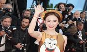'Angela Phương Trinh thu hút ống kính trên thảm đỏ Cannes' gây sốt mạng XH