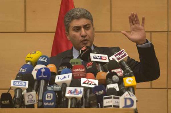 Bộ trưởng Hàng không Ai Cập Sherif Fathy. Ảnh: AFP