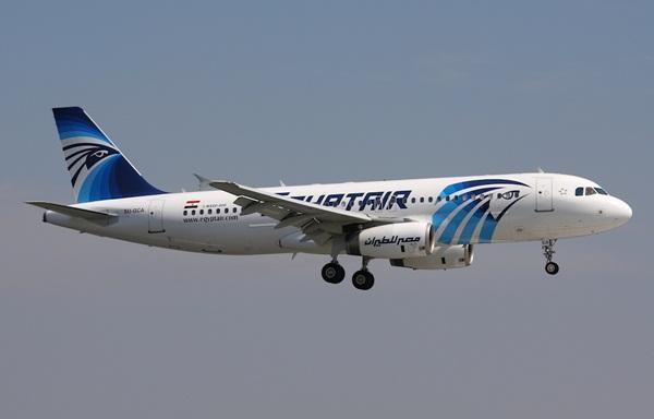 Một máy bay Airbus A320-232 của hãng EgyptAir. Ảnh: Planespotters