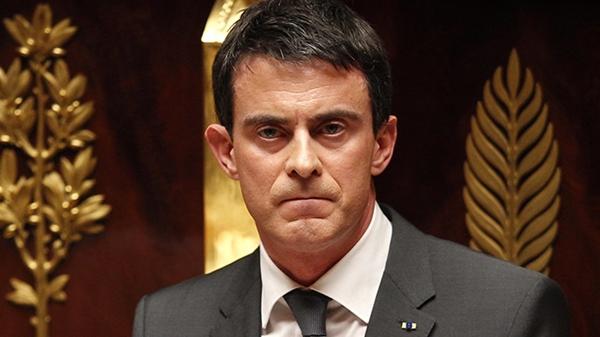 Thủ tướng Pháp Manuel Valls. Ảnh: Reuters.