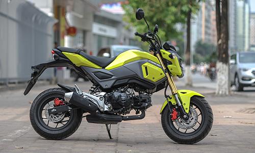 Honda MSX 125 SF đời 2016 xuất hiện tại Hà Nội 1