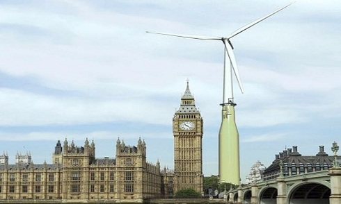 Scotland xây nhà máy phong năng nổi lớn nhất thế giới
