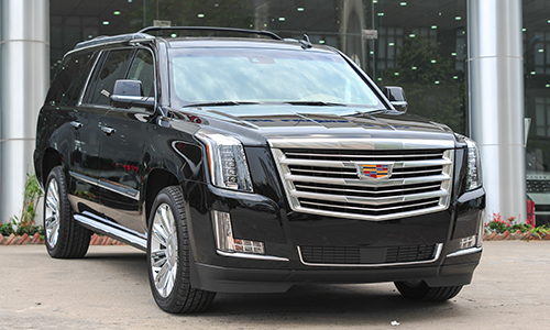 "Cadillac Escalade Platinum 2016 - ""khủng long"" Mỹ ở Việt Nam 1"
