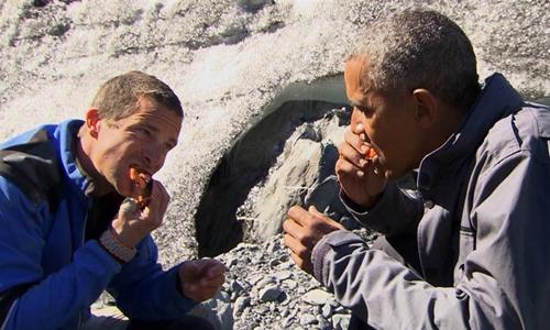 Obama và hình ảnh trên truyền hình thực tế 1