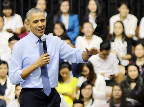 Obama lý giải việc hút cần sa thời thanh niên 1