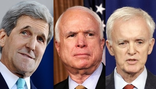 Ngoại trưởng Mỹ Kerry chia sẻ về chiến tranh và chuyến thăm của Obama 1