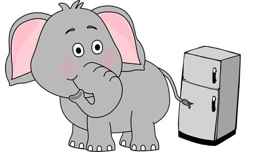 Con voi to thế vào bỏ vừa trong tủ lạnh.