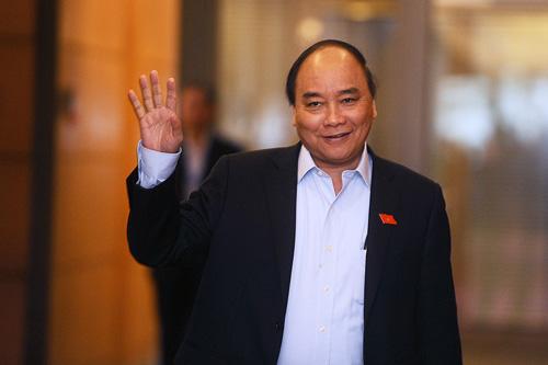 Nguyễn Xuân Phúc. Ảnh:Giang Huy