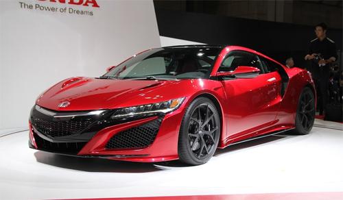 Honda NSX - huyền thoại chính thức trở lại 1