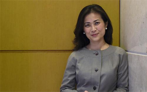 Ủy viênHội đồng An ninh Quốc gia tại Nhà Trắng Elizabeth Phú. Ảnh:LA Times