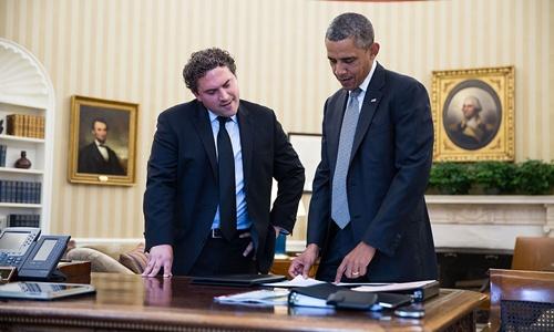 Người viết các bài diễn văn của Obama 2